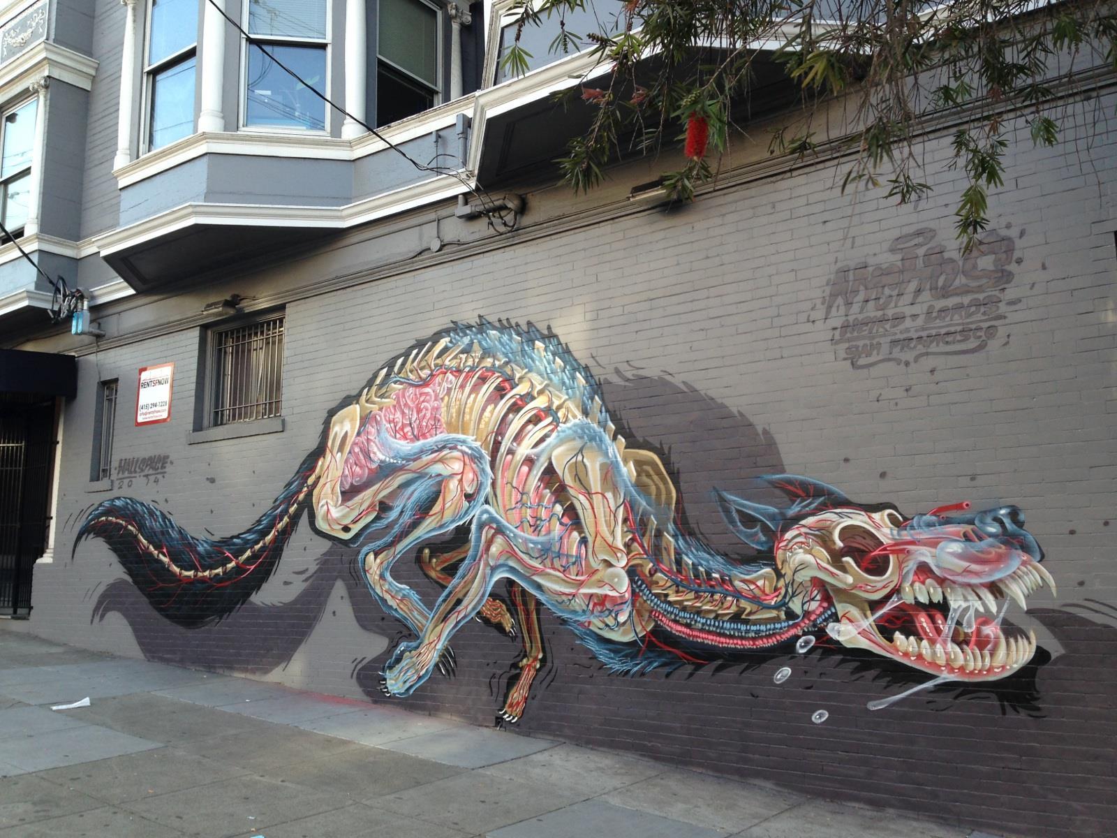 Chalk Spray Paint Graffiti
