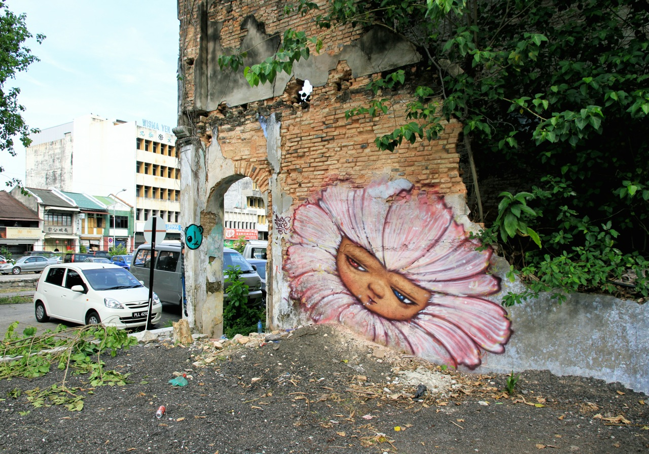 02. Ernest Zacharevic and Martin Ron Murales