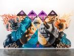 "Kamea Hadar x Tristan Eaton – ""Pele, Maila, Hina"" Mural « Arrested Motion"