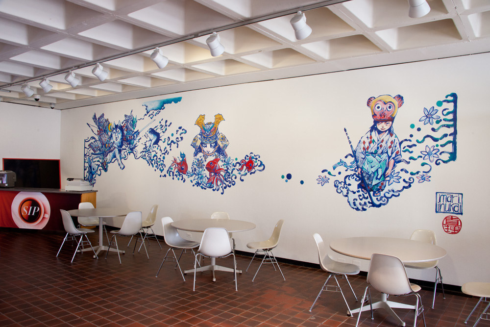 Audrey Kawasaki Andrew Hem Mari Inukai Murals