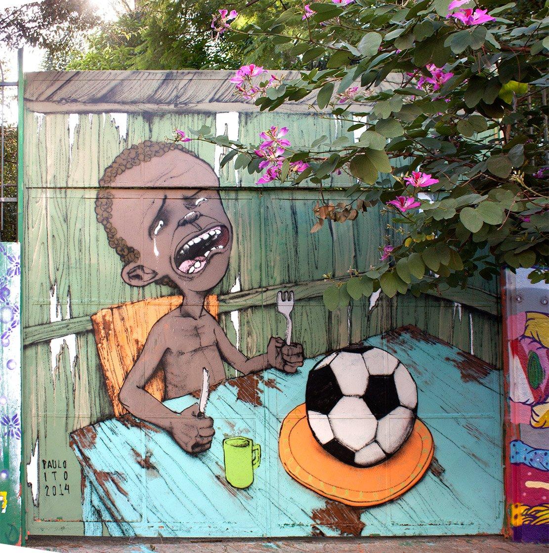 Paulo Ito in Sao Paulo. Via Street Art Utopia.