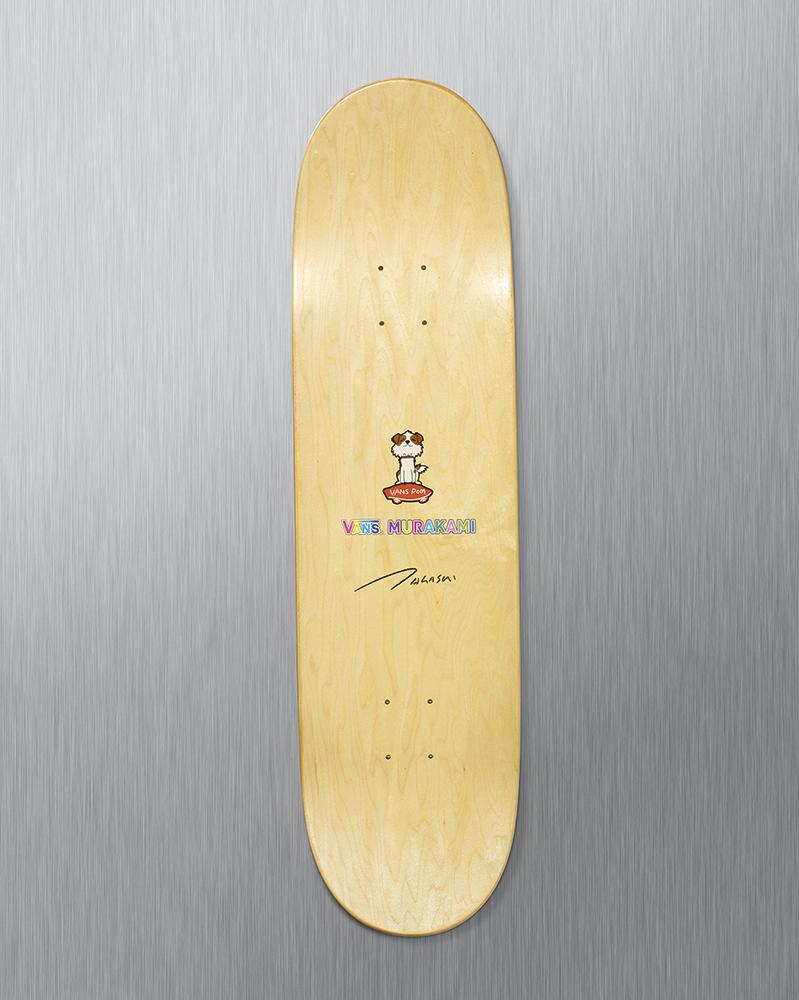 murakami-skate deck top