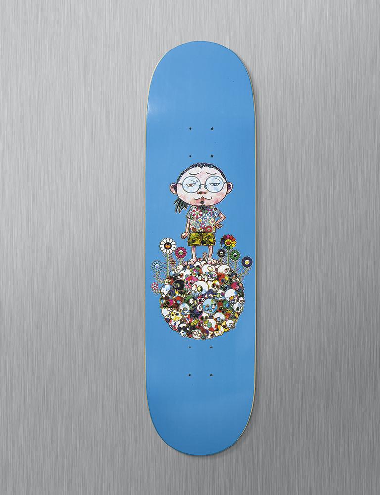 murakami-skate deck world