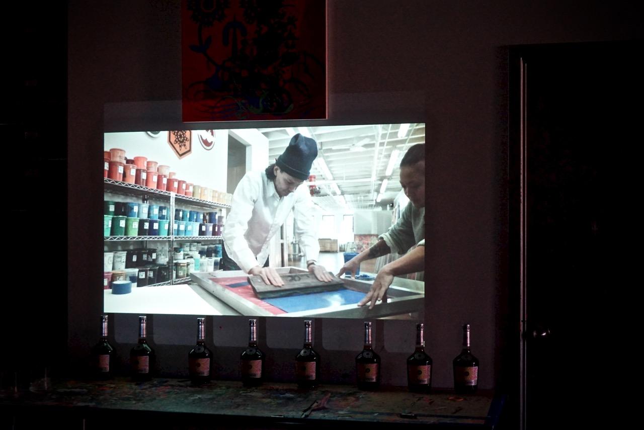 Ryan McGinness x Hennessy Artist bottle VSOP AM  - 1