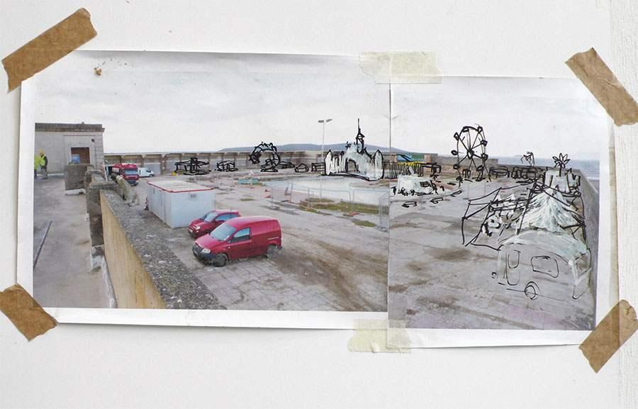 Banksy Dismaland Tropicana Rendering AM