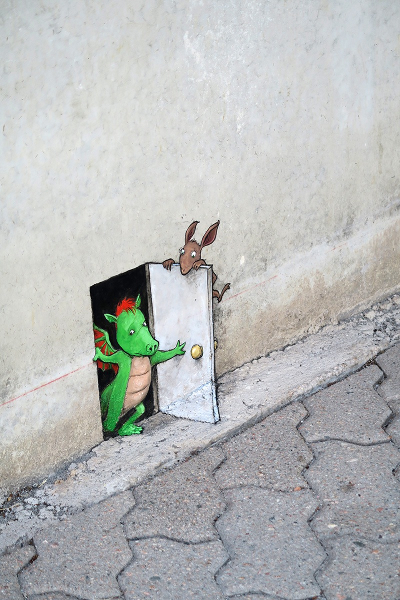 David Zinn. Photo by artist.