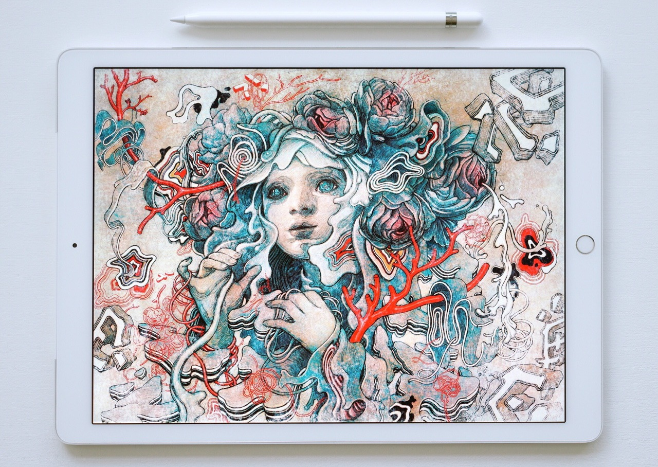 james jean apple pencil ipad pro arrested motion. Black Bedroom Furniture Sets. Home Design Ideas