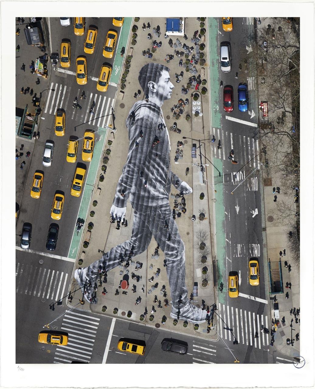 "Releases: JR – ""Migrants, Walking New York City"" Print"