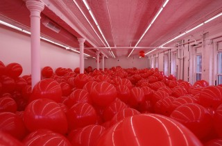 martin creed red balloons gavin brown 2015