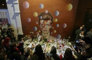 APTOPIX Britain Obit David Bowie