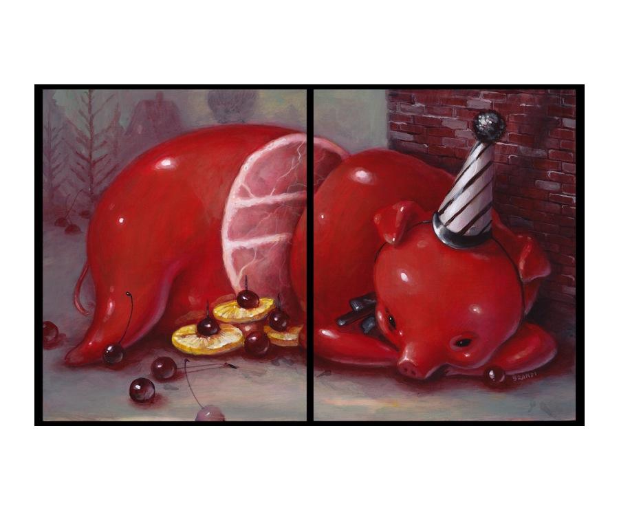 Brandi Milne Little Piggy
