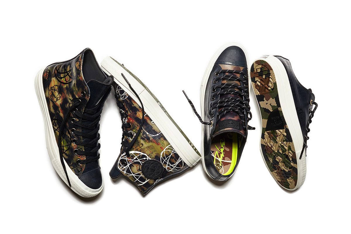 81810b3e72a66a Releases  Futura x Converse Chuck Taylor All Star II collection ...