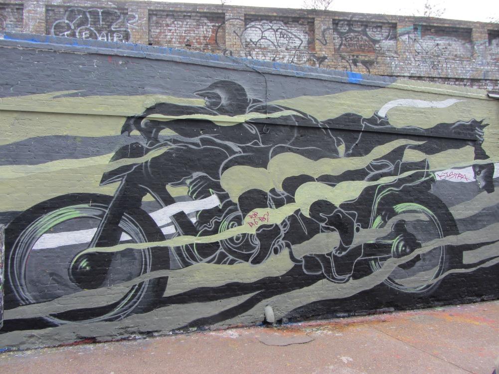 Will Barras for Rebels Yard. Photo by StreetArtToursLondon.