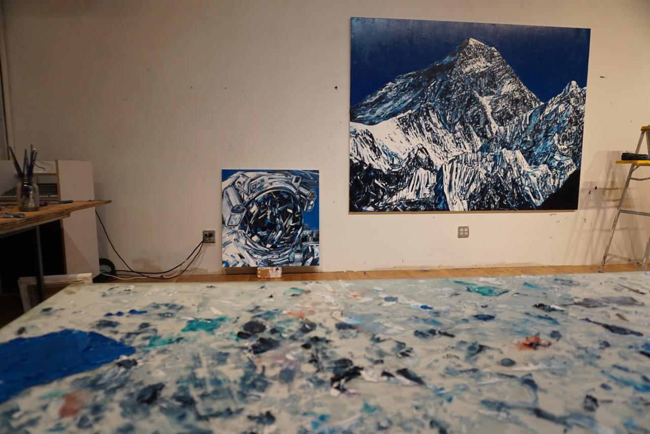 Michael Kagan Liner Studio Visit AM  - 1