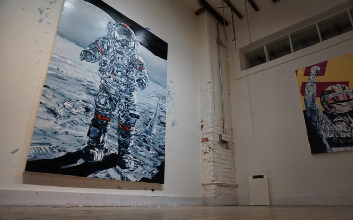 Michael Kagan Liner Studio Visit AM  - 2