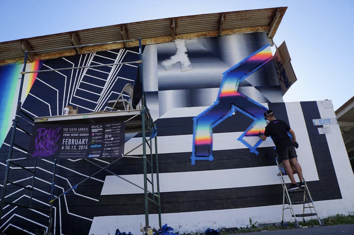 Felipe Pantone. Photo by @halopigg