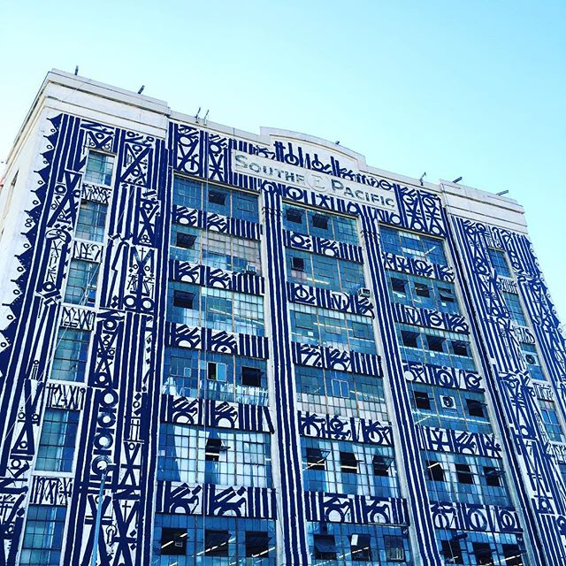 Retna in Los Angeles at the site of new ROW DTLA development
