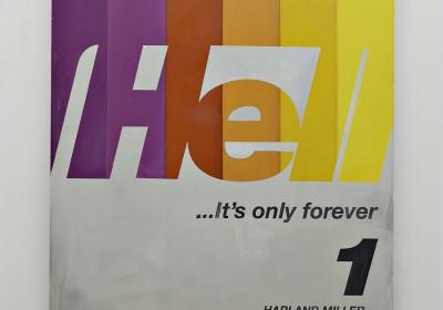 Harland Miller, Hell Its Only For Ever, 2016, Courtesy the artist and BlainSouthern, Photo Peter Mallet