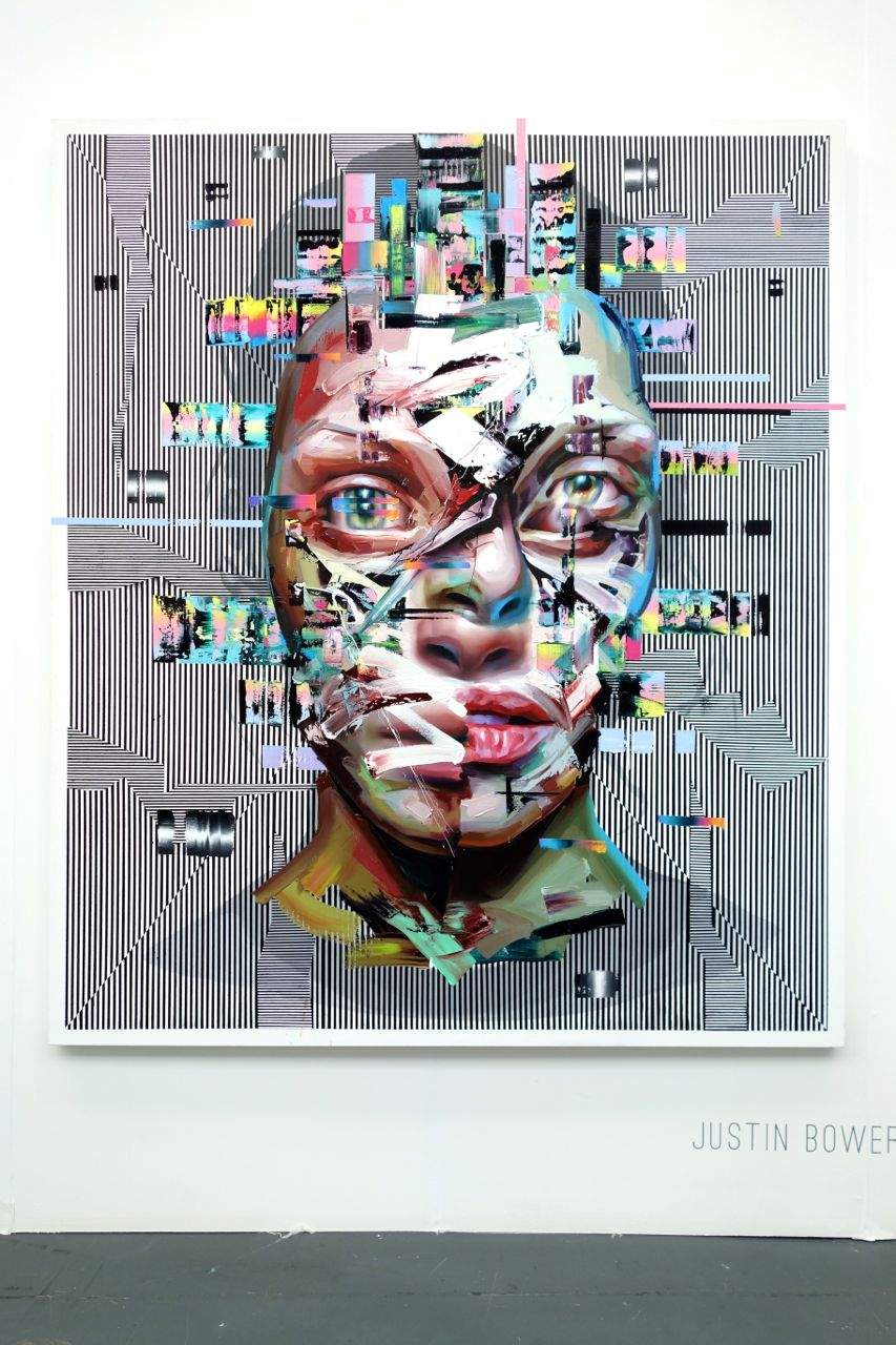 Justin Bower, 'Bleach', 2015, Oil on canvas, 183 x 152 cm, Unix Gallery (USA)