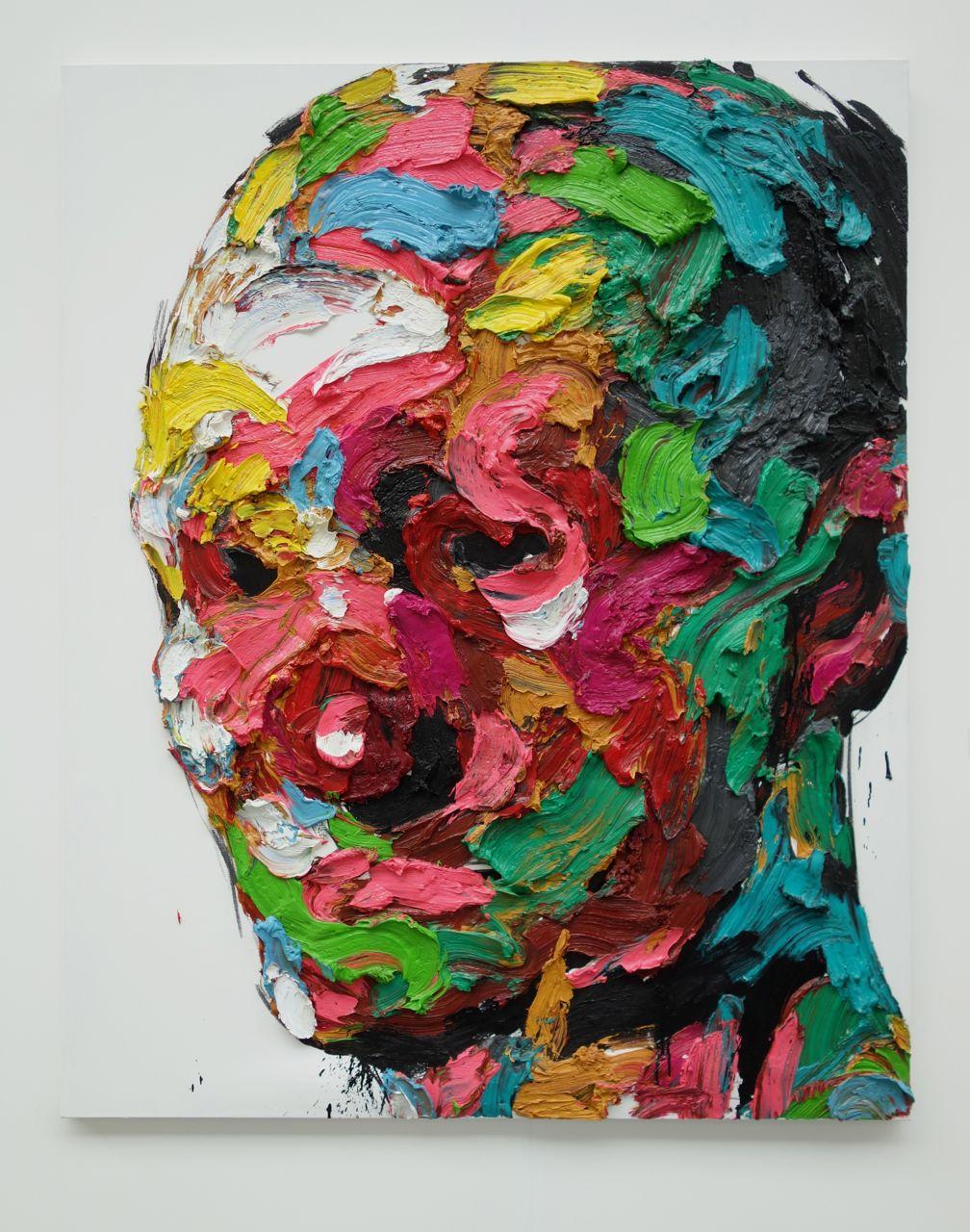 KwangHo Shin, 'Untitled #14P66', 2014, Oil on canvas, 162 x 130 cm, Unix Gallery (USA)