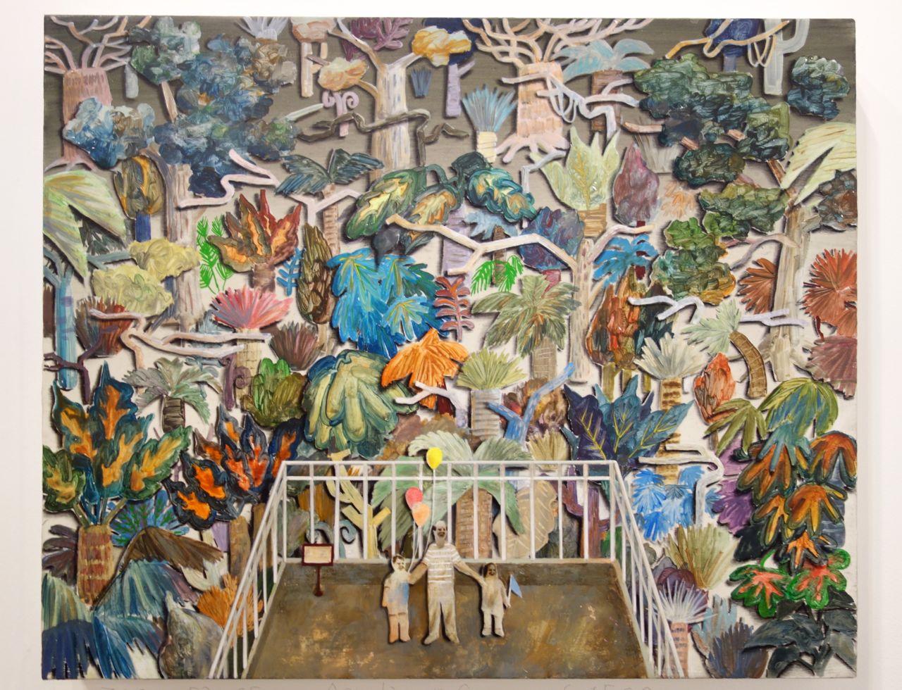 Lai Wei-Yu, 'Zoo', 2016, Acrylic on canvas, 53 x 65 cm, Yiri Arts (Taiwan)