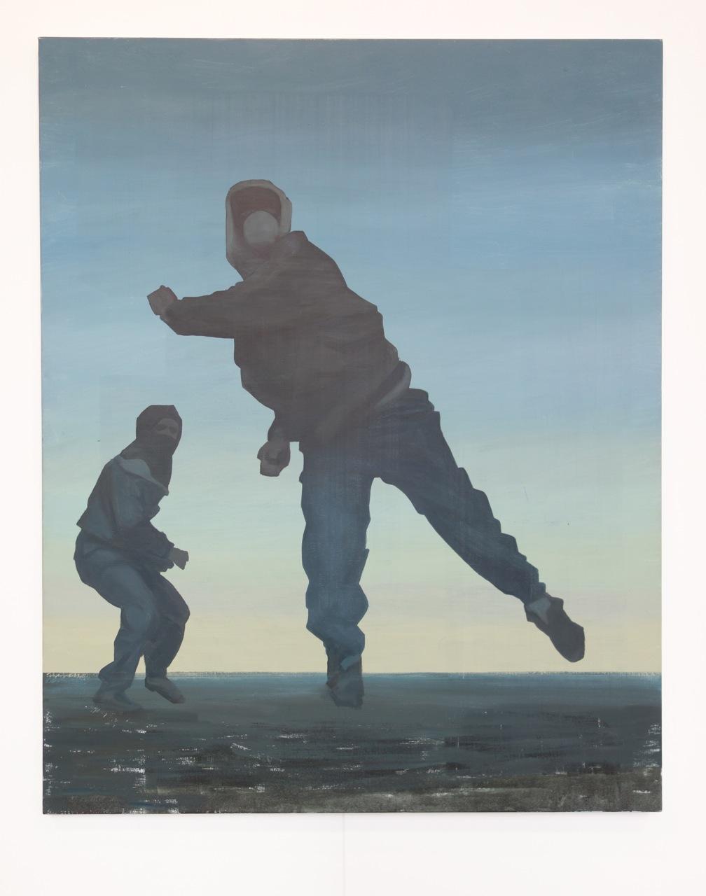 Arthur Aillaud, 'Untitled 9', 2016, Oil on canvas, 162 x 130 cm, Galerie La Forest Divonne (France / Belgium)