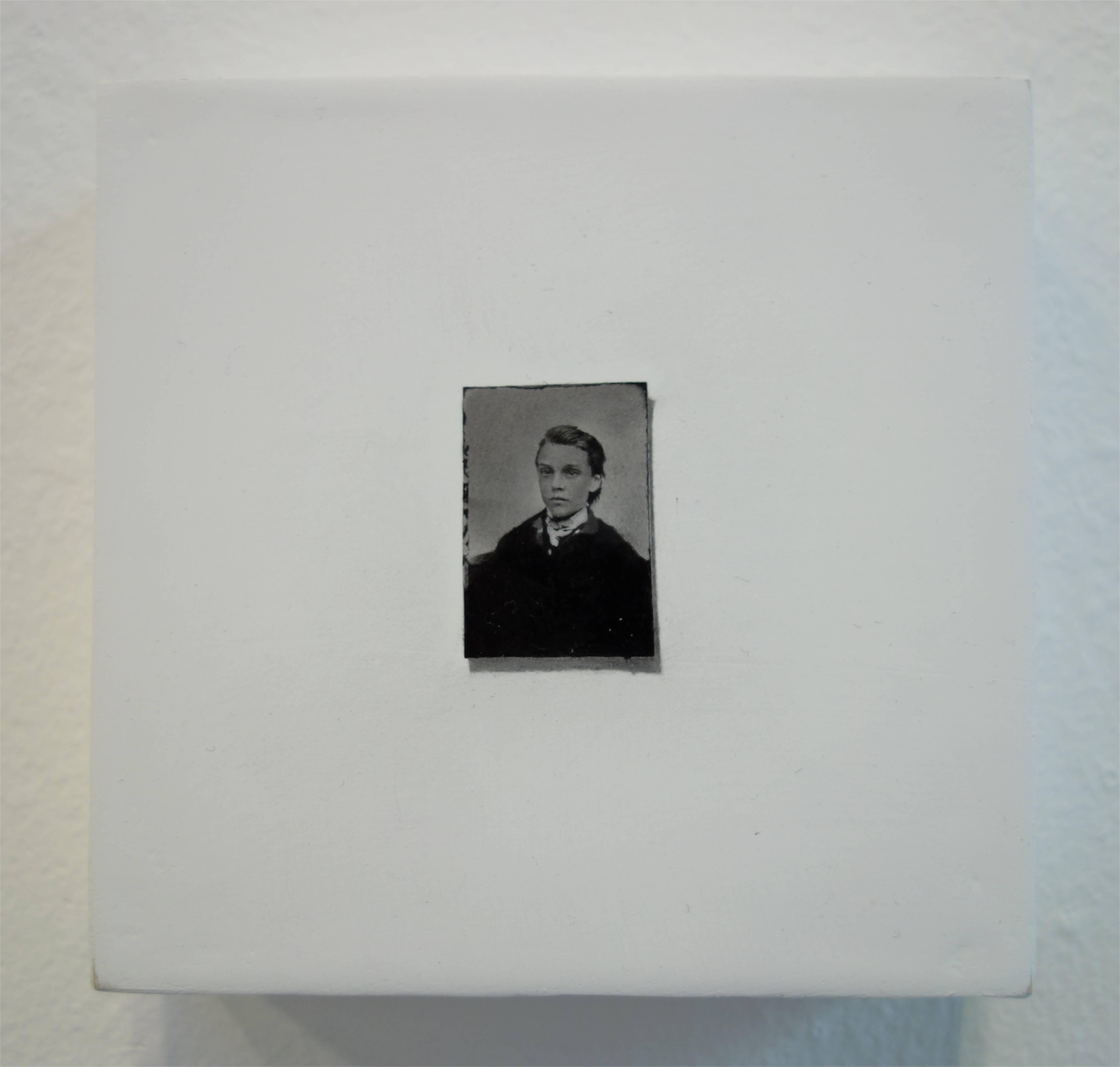 Takahiro Yamamoto, 'Reannotation', 2016, Oil and pencil on board, 10 x 10 cm, Gallery Kogure (Japan / USA)