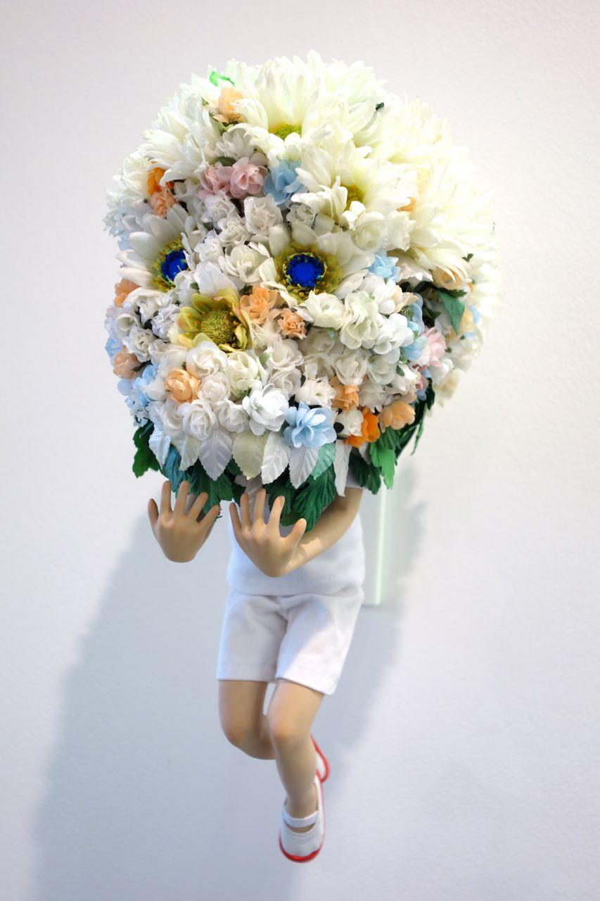 Yoshiyuki Ooe, 'Flower Head #3' (close-up)
