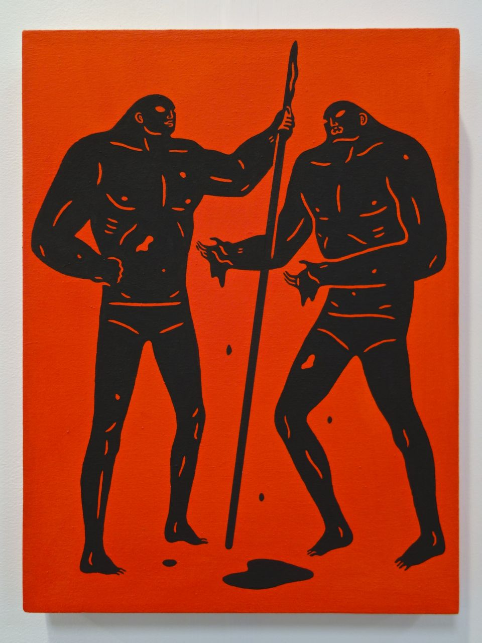 Cleon Peterson, 'Dirty Hands', 2015, Acrylic on canvas, 40 x 30 cm, Over The Influence (Hong Kong)