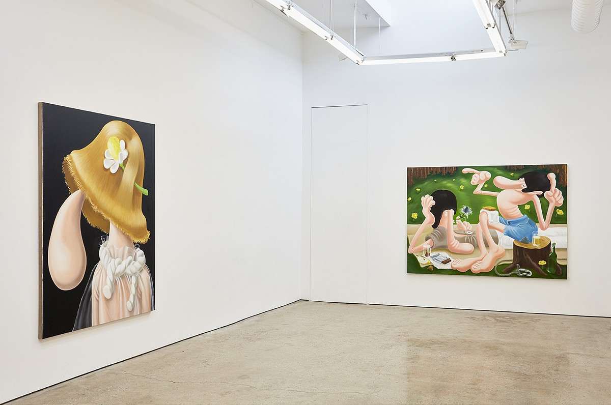 """Showing: Louise Bonnet – """"Paintings"""" @ Mier Gallery ..."""