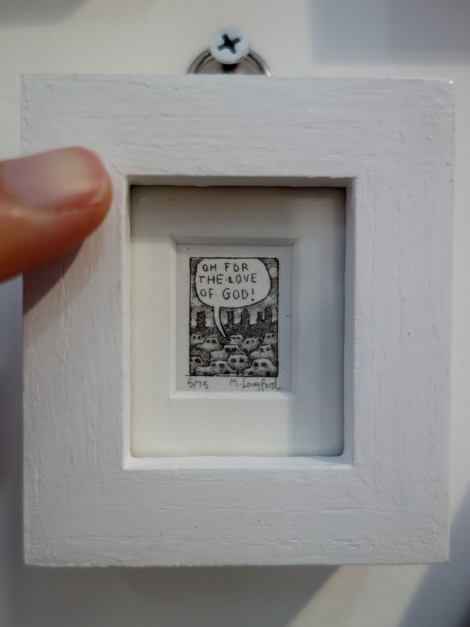 Martin Langford, Title unknown, Etching. For Arts Sake (Greater London)