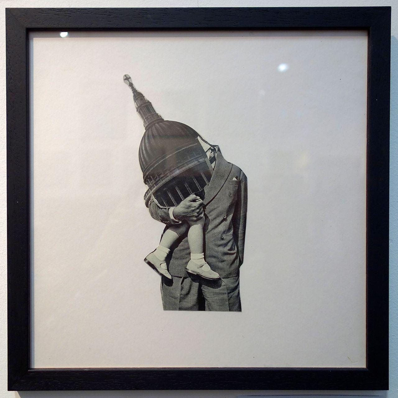 Pum, 'Architect', Collage. Broth Art (London)