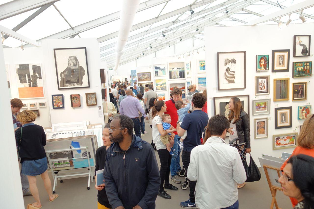 Affordable Art Fair, Hampstead, London