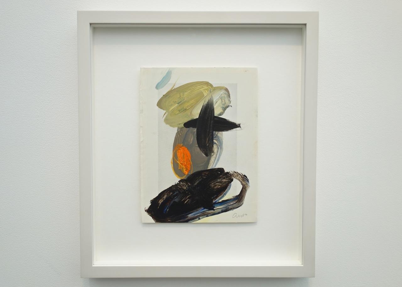 Caroline Pedler, 'Escape', Acrylic on paper, 21 x 15 cm. REN Fine Art (Penzance)