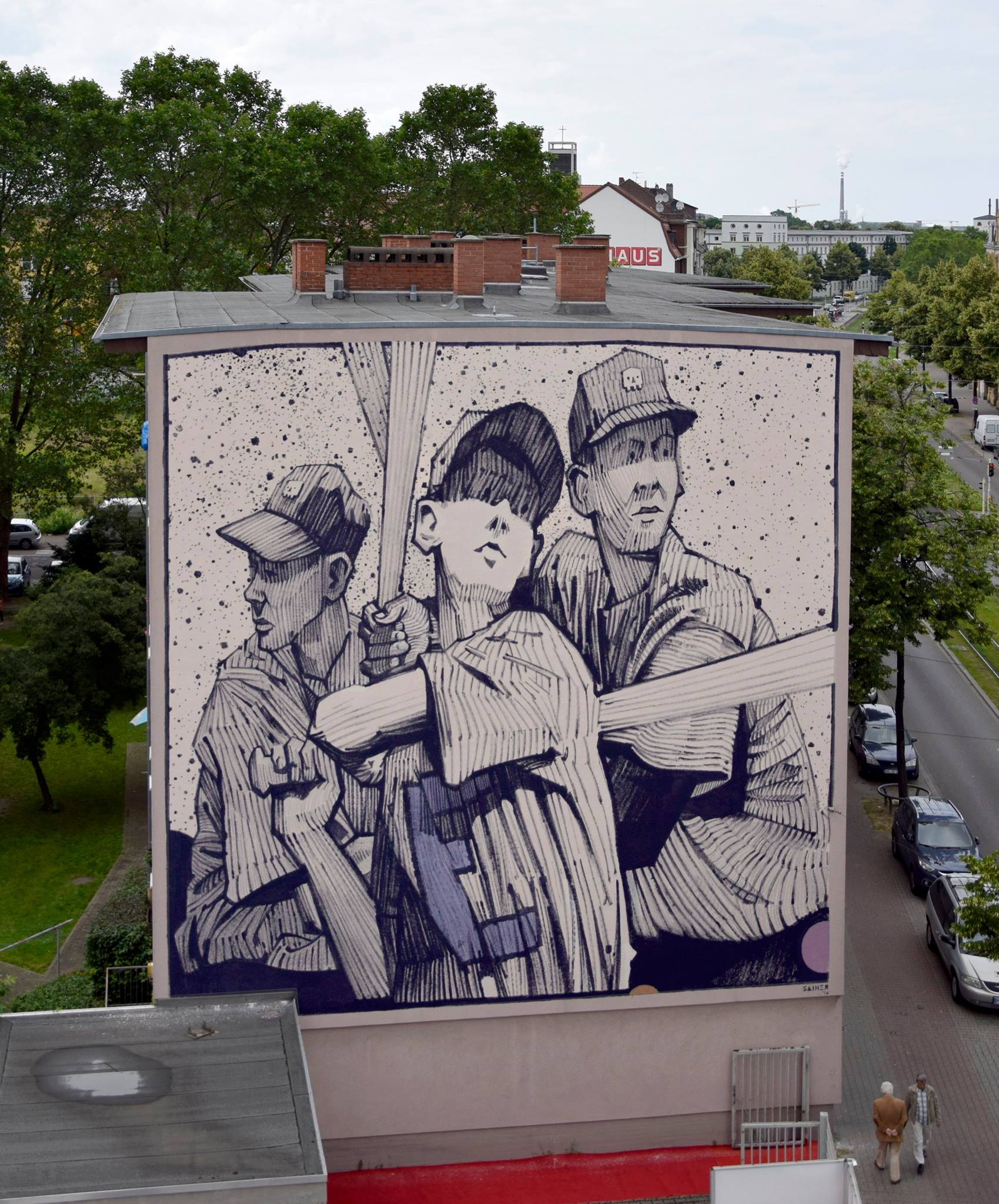 Sainer from Etam Cru in Mannheim, Germany.