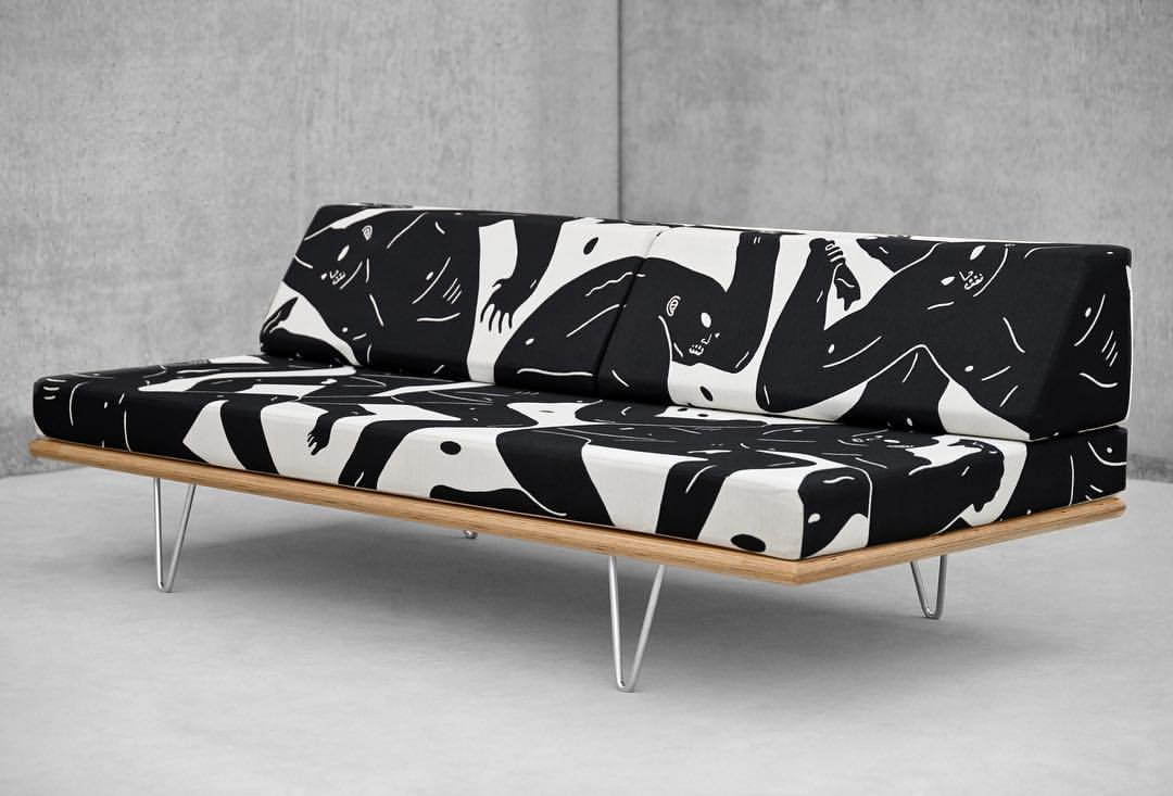 On July 14th Modernica Will Be Releasing A Daybed They Designed With Cleon Peterson Limited To An Edition Of 100 Each One Signed And Numbered By