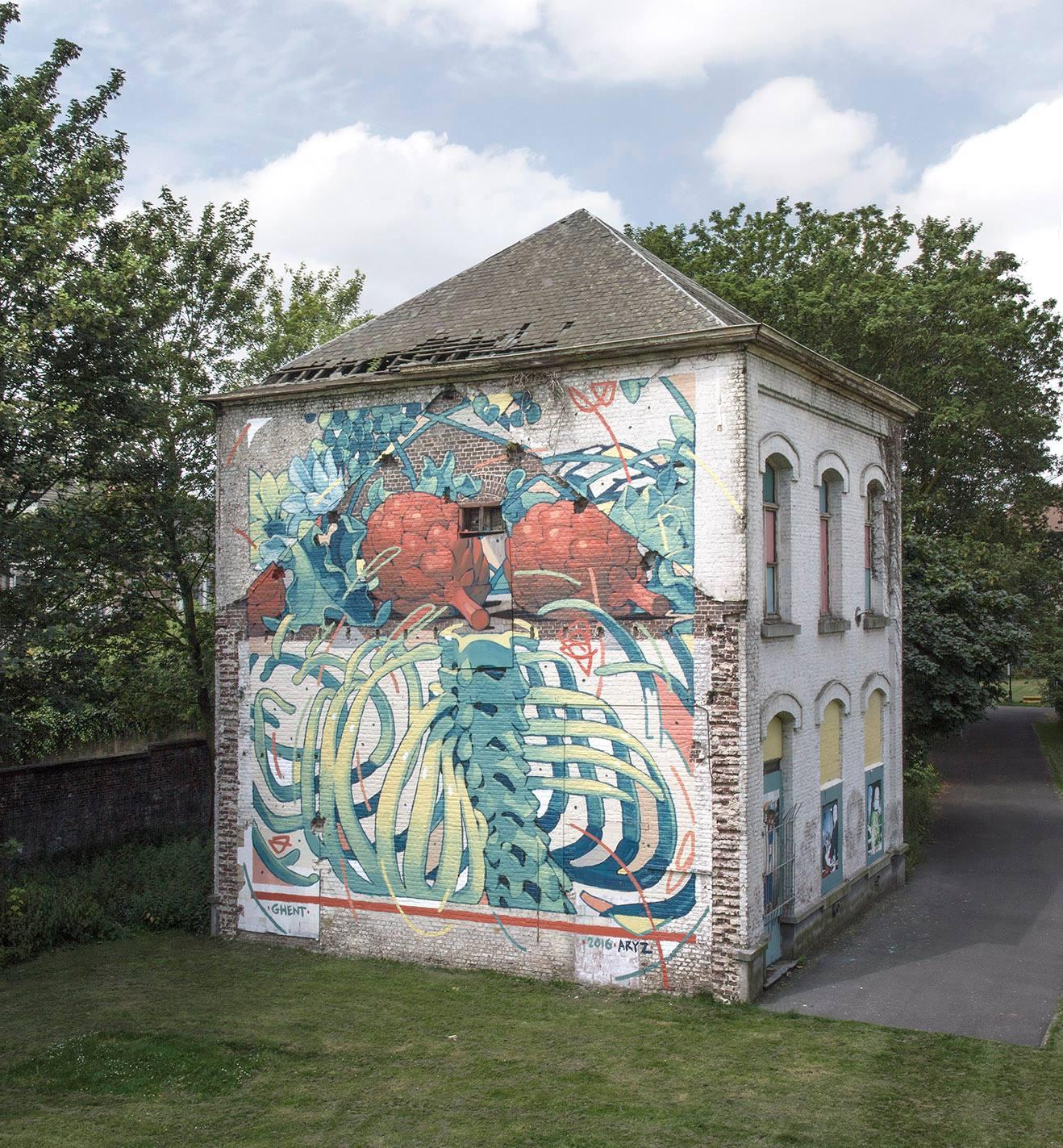 Aryl in Ghent, Belgium.
