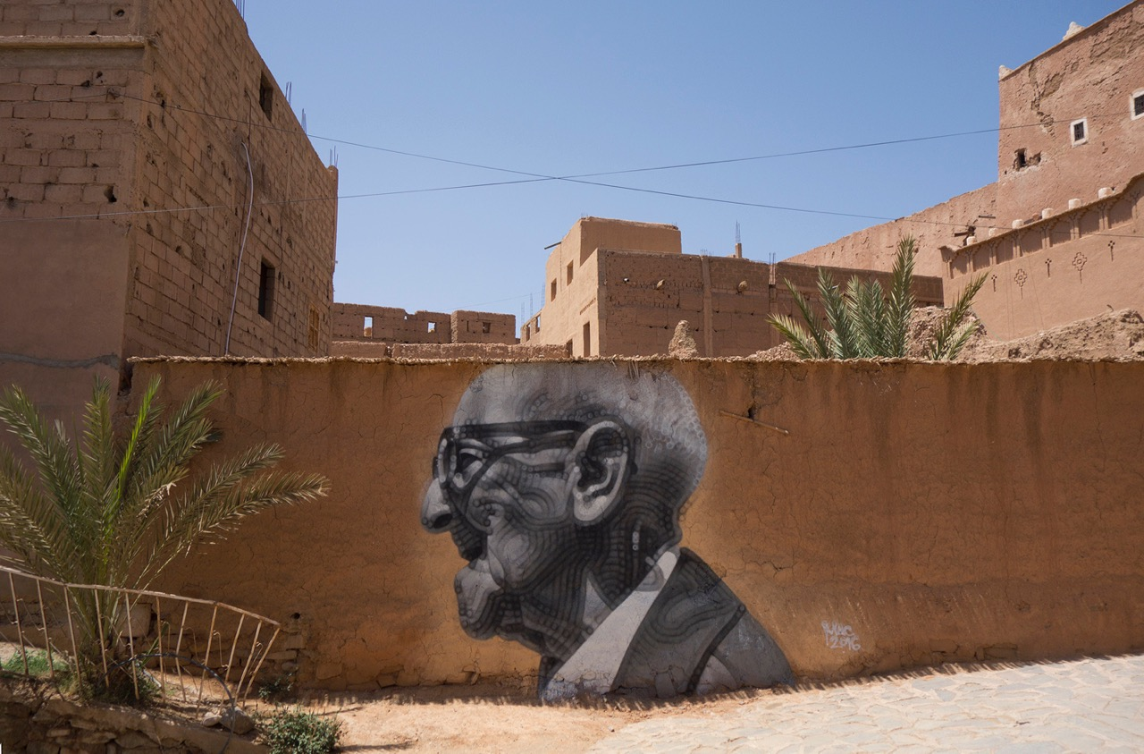 "El Mac in Morocco for the ""Igloo Hong"" project."