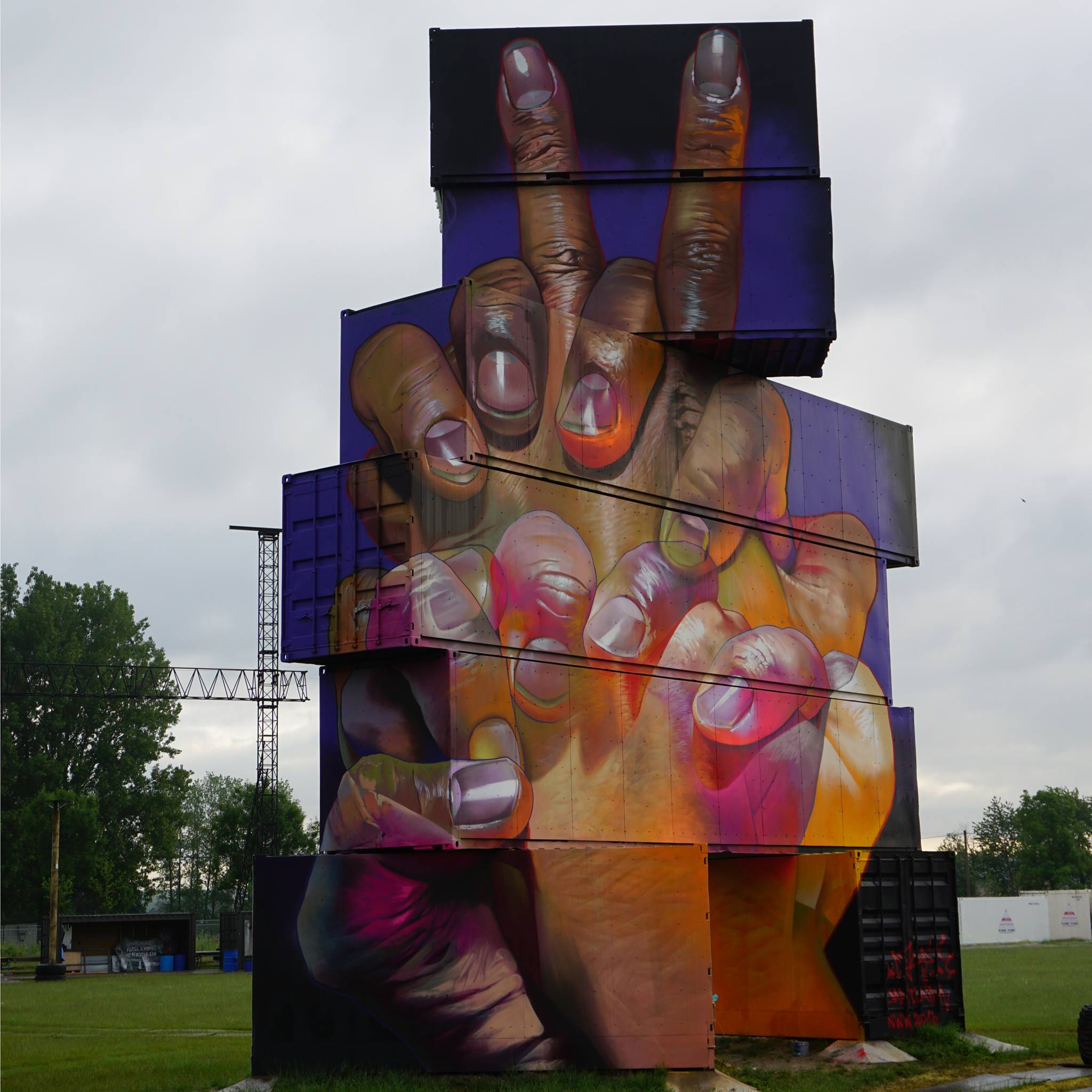 Case for Northwest Walls in Werchter, Belgium.