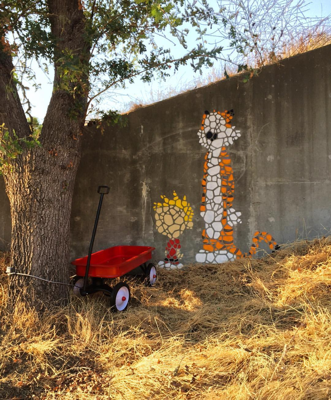 Girafa in San Jose, California. Found via @powwowworldwide.