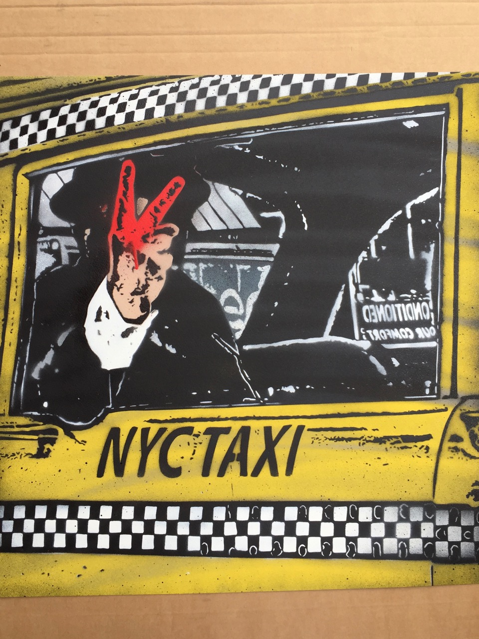 Nick Walker Last ride Bronx Wall Works AM  - 3