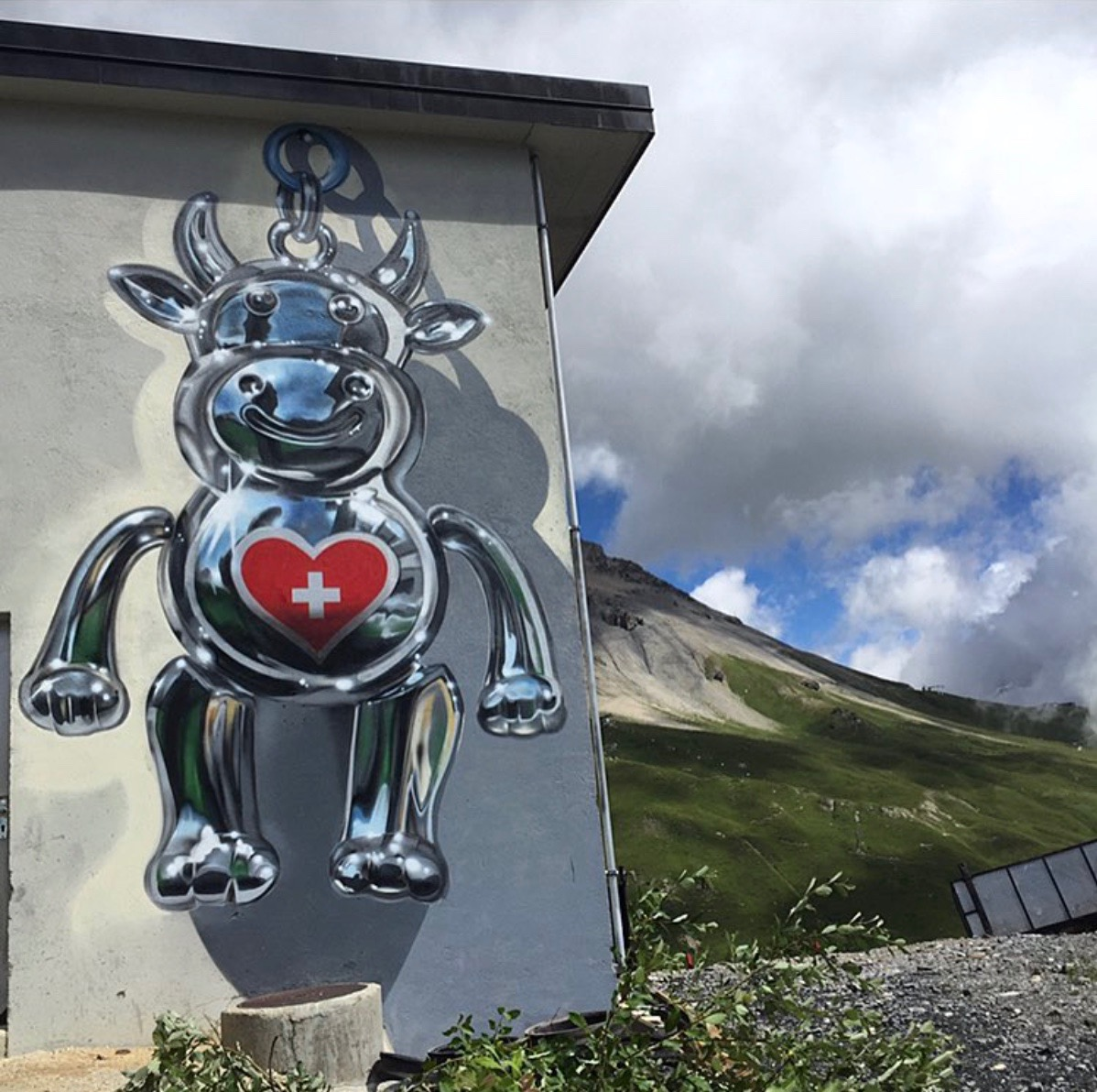 Fanakapan for Vision Art Festival in the Swiss Alps.