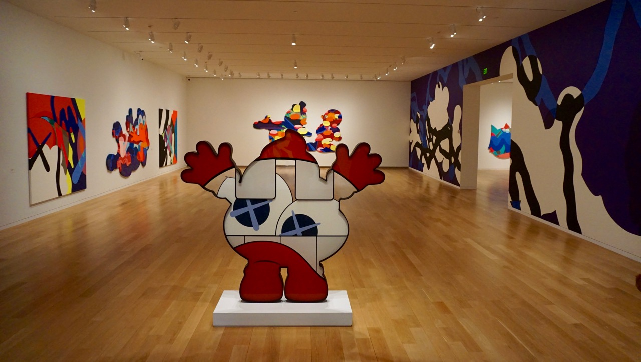 Kaws retrospective Modern Fort where the End begins AM  - 1