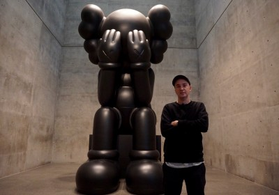 Kaws retrospective Modern Fort where the End begins AM  - 79
