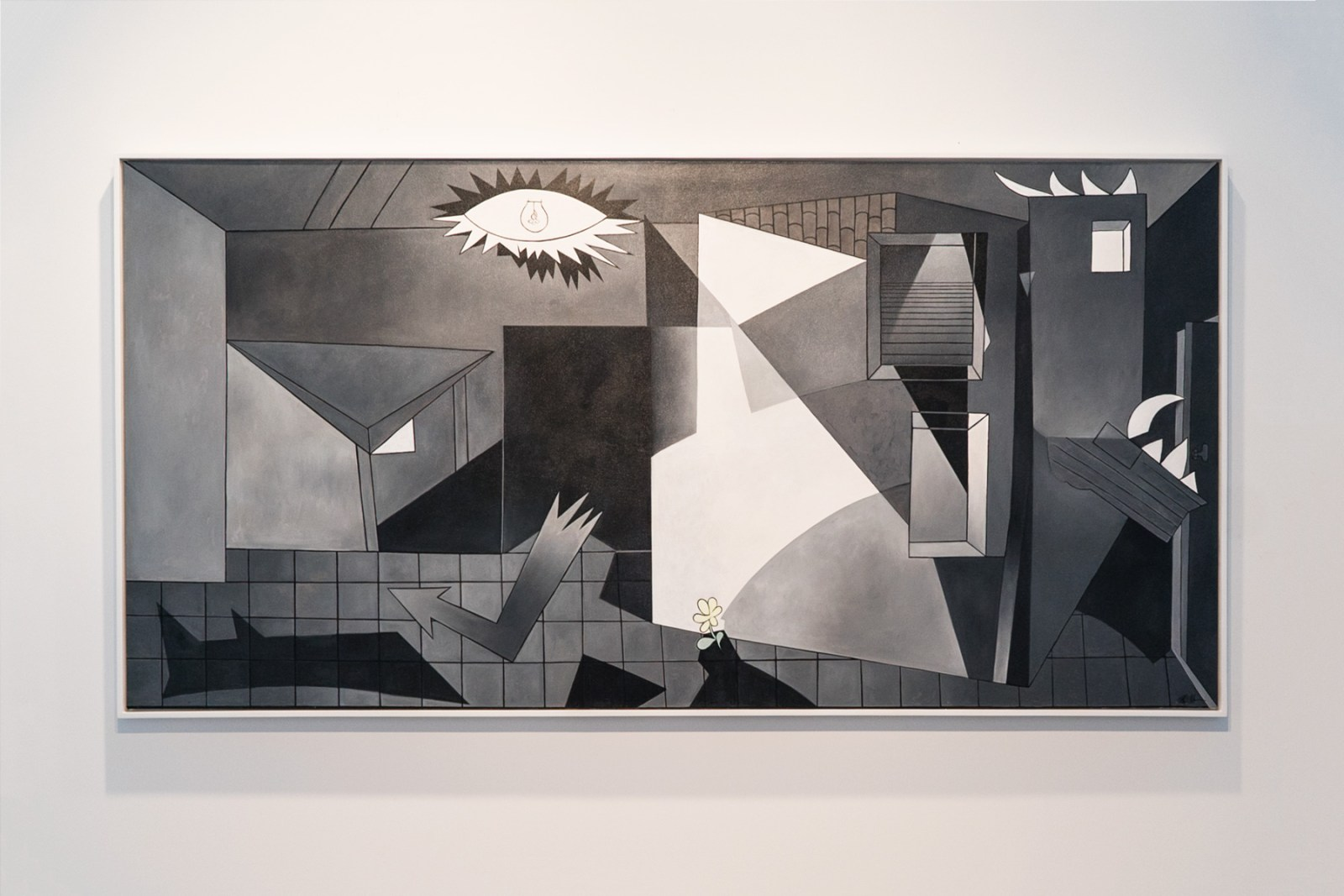 ron-english-on-pablo-picasso-guernica-5