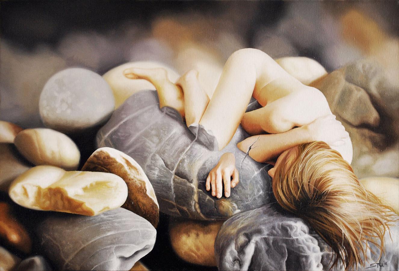 stuart-amos-Petrified-oil-on-canvas-76x51cm