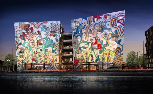 Calendar Month Design : James jean designs facade of fair haired dumbbell