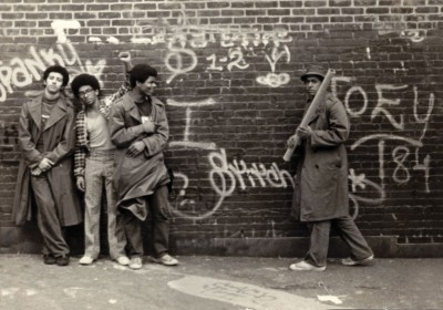 SNAKE-1,-STATIC-5,-FLASH-191,-and-STITCH-1-at-the-P.S.-189-school-yard-in-Washington-Heights,-New-York.-Circa-1973.-Photo-courtesy-SNAKE-1