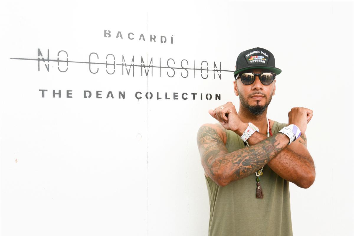 Swizz Beatz at No Commission Bronx, NY (Custom)