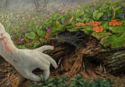 adrian-cox-Veiled-Healer-Gathering-Herbs-_Spring-Rain_1024x1024